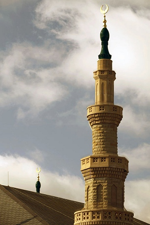 The winning minaret - the Bradford Madni Mosque, England, Architect: Alan Priests